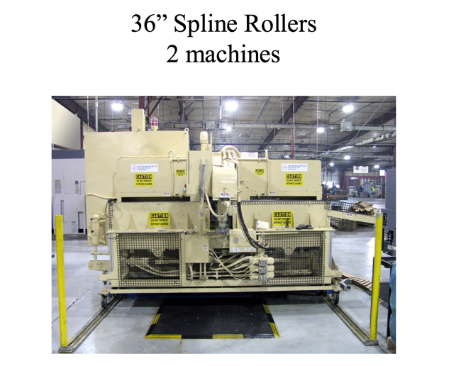 36-spline-rollers-2-machines